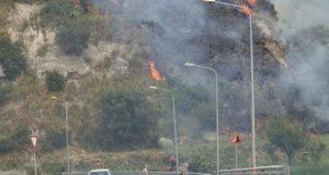 Provincia di Messina in fiamme: forte l'attenzione per Villafranca Tirrrena