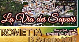 """Estate romettese: il centro storico sarà """"La Via dei Sapori"""""""