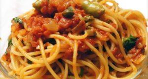 """A tavola con gusto: """"spaghetti all'eoliana"""", un salto alle isole"""