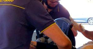 Messina, ferito alla gamba da una lama: necessaria una motosega per rimuoverla