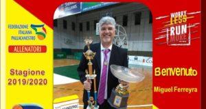 Nuova Pallacanestro Messina, coach Ferreyra entra nello staff tecnico