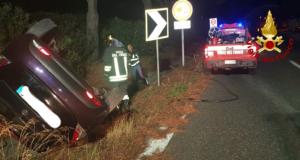 Incidente sulla A20: conducente illeso