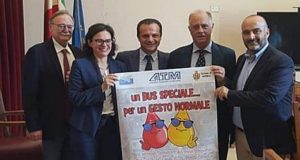 """Sangue Messina: al via la campagna """"un bus speciale…per un gesto normale"""""""