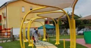 A Rometta un parco giochi inclusivo