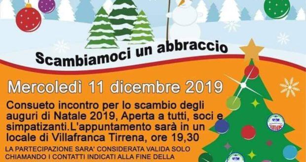 """Scambiamoci un abbraccio"" a Villafranca Tirrena"