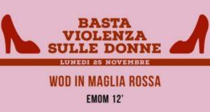 """""""Basta violenza sulla donna"""": magliette rosse e sport per la Giornata internazionale"""