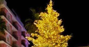 S.Teresa di Riva, albero di Natale e 36 eventi
