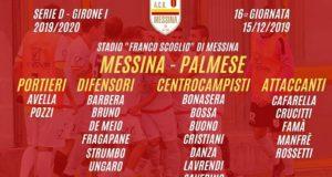 Verso Acr Messina-Palmese