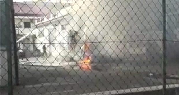 A fuoco un camper a Capo d'Orlando: cause da accertare