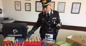 Monforte San Giorgio: scuola danneggiata con i fuochi d'artificio, denunciato 19enne