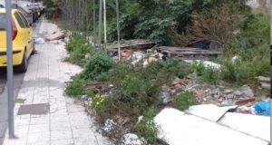 Argento e Scivolone (M5s): zona di via Taormina nel degrado