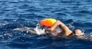 Corsica-Sardegna a nuoto: l'impresa di un messinese