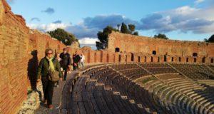 Sicilia: oltre 24.000 presenze a febbraio nei siti di Taormina e Naxos (+64%)
