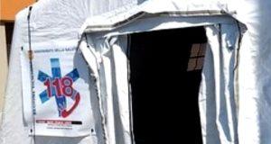 Sanificazione Messina: una tenda di Pronto Intervento al Papardo