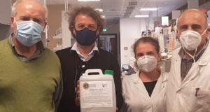 Coronavirus, Università dona primi 15kg di gel igienizzante a Messinaservizi
