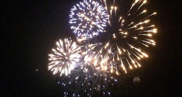 Messina, fuochi d'artificio a Giostra