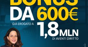 Grazia D'Angelo (M5S) ,da oggi in pagamento bonus 600 euro