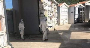 Spadafora: sanificati i cimiteri, oggi la riapertura
