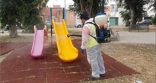 Messinaservizi, Fase 2: disinfezione e scerbatura straordinaria nelle aree più sensibili