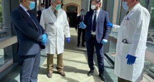 Coronavirus, donati sanificatori d'aria: presenti i Sottosegretari alla Difesa