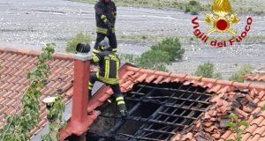 Fondachelli Fantina: fiamme in abitazione, intervento dei Vigili del Fuoco