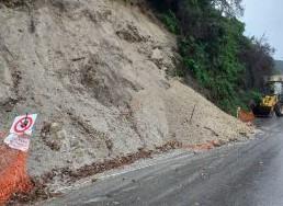 Messina: dopo la frana, chiusa la strada tra Reginella e Portella Castanea