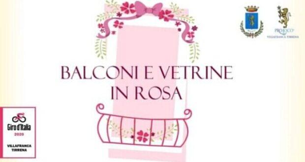 «Balconi e vetrine in rosa»: ecco il regolamento del concorso