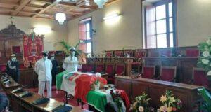 Allestita la camera ardente al comune di Milazzo per il Sottufficiale Aurelio Visalli.