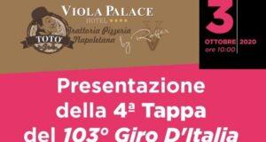 Giro d'Italia a Villafranca Tirrena: domani conferenza stampa al Viola Palace Hotel