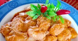 """A tavola con gusto: """"gnocchi con pomodori secchi, ricotta e peperoncino"""""""