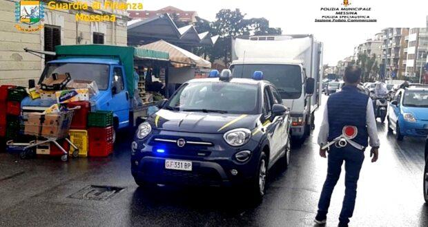 Messina, blitz antiabusivismo di Annona e Guardia di Finanza