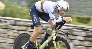 Giro d'Italia: Ganna domina la cronometro di Valdobbiadene
