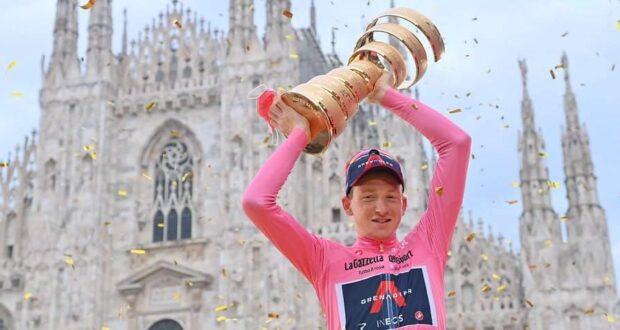 Tao Geoghegan Hart vince il 103° Giro d'Italia
