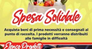 Villafranca Tirrena: spesa solidale per le famiglie bisognose