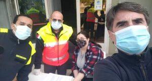 La Militia Christi distribuisce mascherine gratuite a Venetico