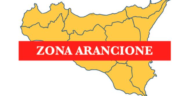 Sicilia zona arancione rinforzata a partire da domenica