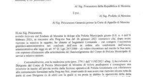"""Caso """"Municipale"""": ecco la nota annunciata dal sindaco e inviata al procuratore De Lucia"""