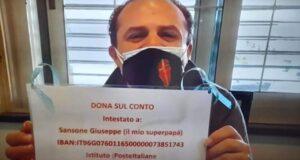 Il sindaco Cateno De Luca a casa del piccolo Luca, il bimbo milazzese affetto da atrofia muscolare di tipo 1