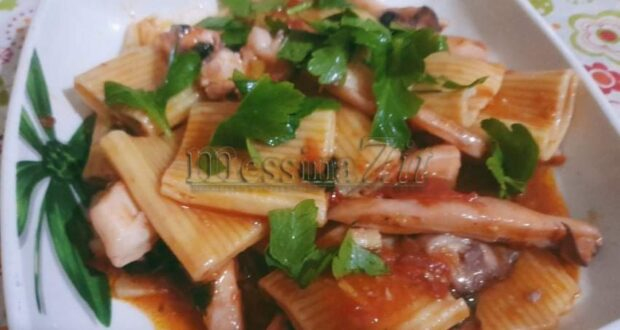 """A tavola con gusto: """"pasta con le seppie"""" il mare in pentola"""