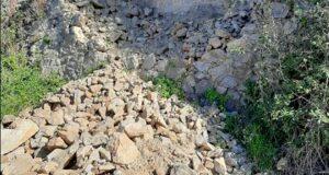 """Muro franato ad Acqualadrone, Biancuzzo: """"Urge intervento"""""""