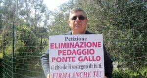 Messina, Biancuzzo contro il pedaggio di Ponte Gallo