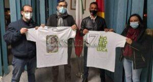 """""""Io tifo per Luca"""" approda a Villafranca Tirrena"""