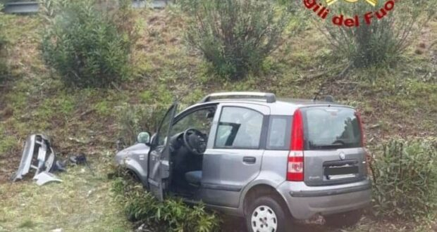 Incidente stradale nei pressi dello svincolo di Brolo: donna illesa