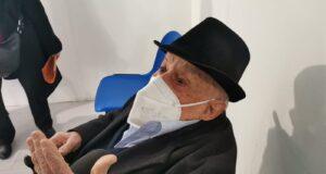 'Open weekend' 25 Aprile: 91enne fratello di partigiano si vaccina a Messina [VIDEO]