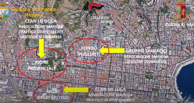"""Operazione """"Provinciale"""" Sgominati il clan De Luca e il gruppo Sparacio, 33 arresti (video)"""