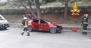 Incidente stradale allo svincolo di Sant'Agata Militello: 4 feriti