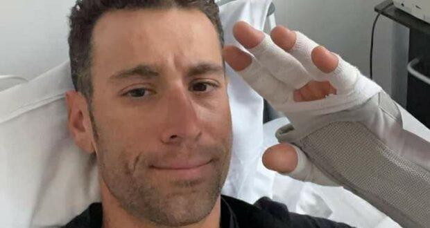 """Nibali in ospedale dopo una caduta: """"Farò di tutto per essere al Giro"""""""