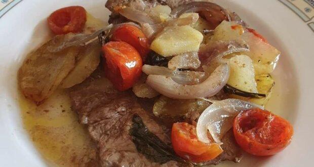 """A tavola com gusto: """"Murata al forno con patate"""""""