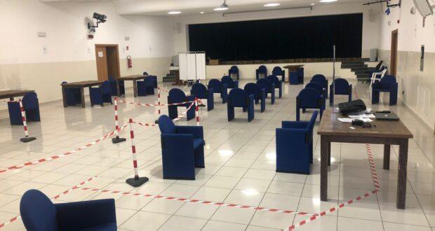 Salina, pronto il Centro vaccinale: si parte domani [FOTO]