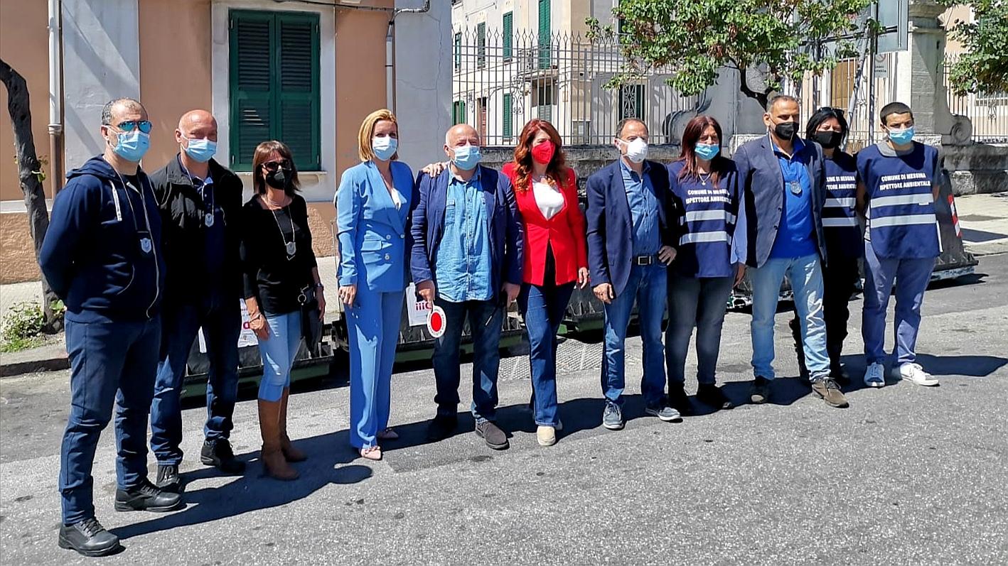 Porta a porta: via l'ultimo cassonetto, Messina sul podio del 40%